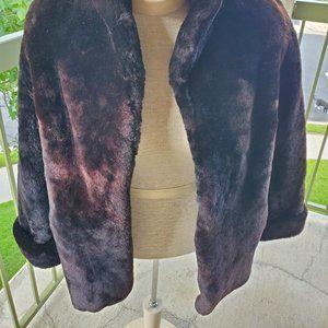 Vintage Jackets & Coats - Vintage faux fur coat